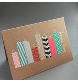 MT washi tape Christmas stripe
