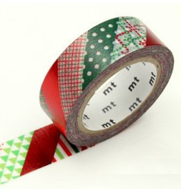 MT  MT washi tape Christmas stripe
