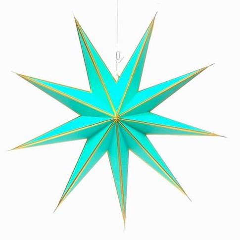 Kerstster Emerald gold
