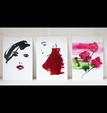 Kunstkaart Pink Lips