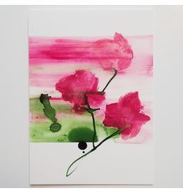Tessa M. de Graaf Kunstkaart Roses
