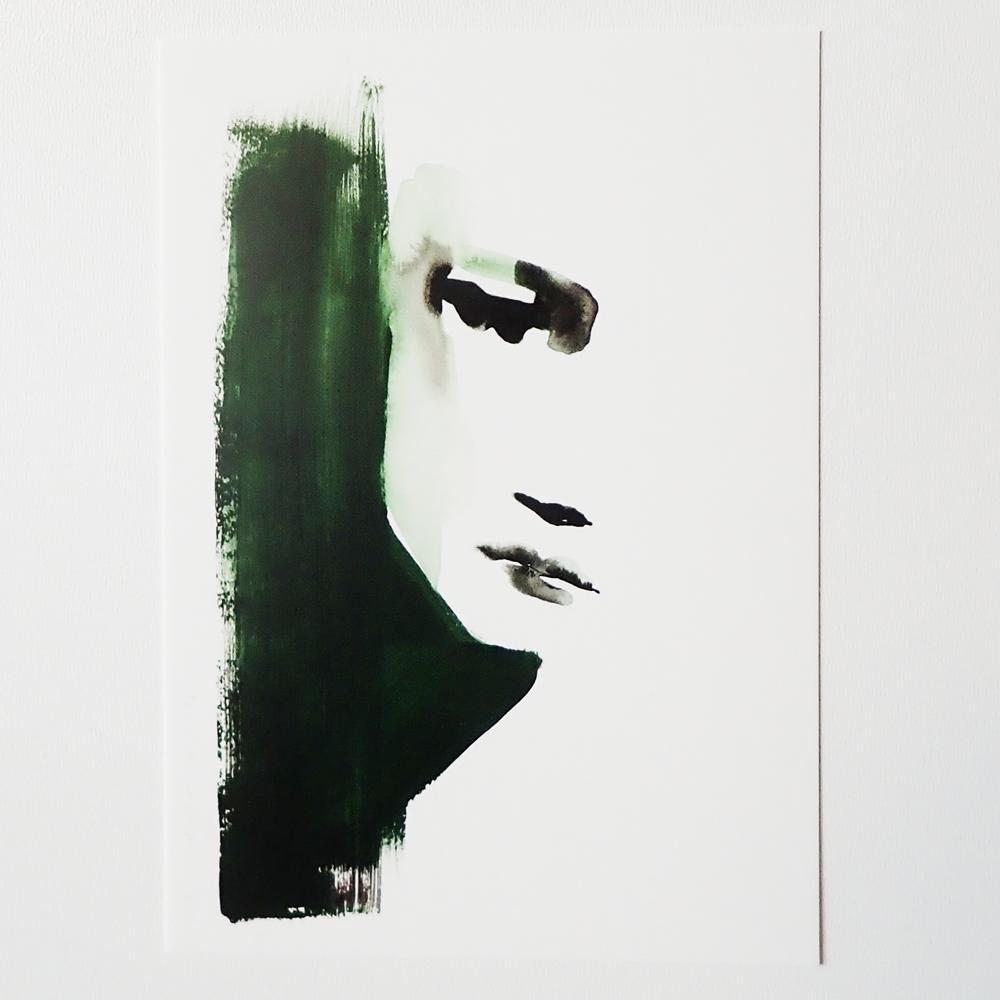 Kunstkaart Unfocused