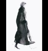 Kunstkaart Leading lady
