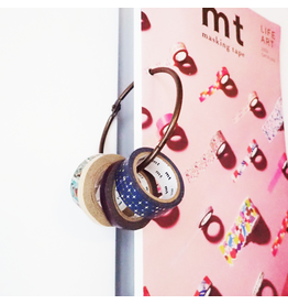 Zilte atelier Washi tape ring koper