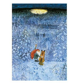 Hjelm Förlag Kaart Eeuwig kerstdorp van Harald Wiberg
