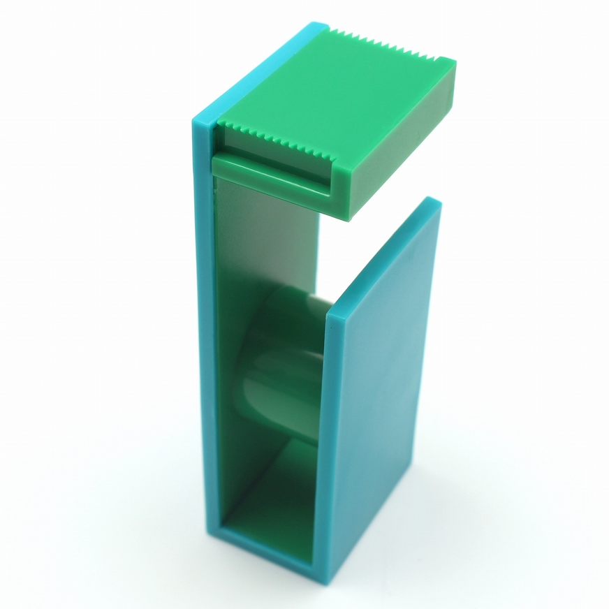 MT washi tape cutter 2tone peacock x green