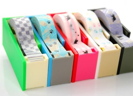 MT washi tape cutter 2tone sky x sea