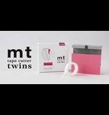 MT washi tape cutter Twins ivory x white