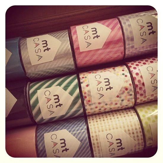 MT casa washi tape Uguisu 100 mm