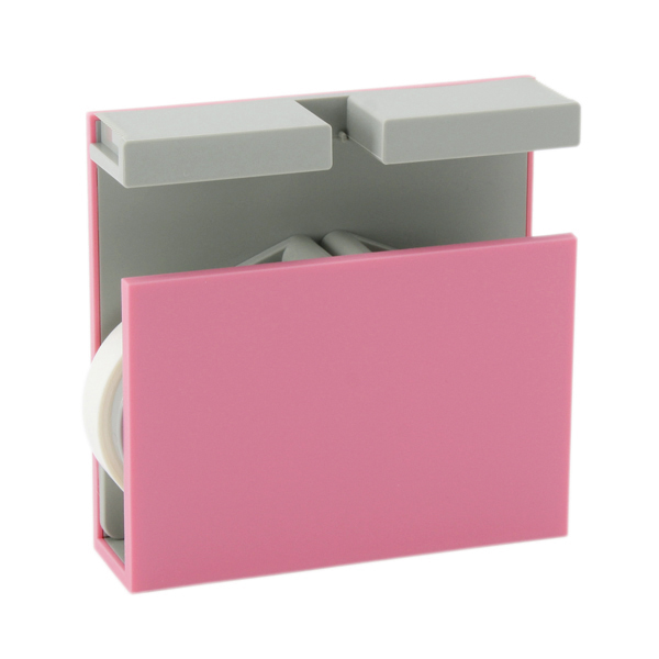 MT washi tape cutter Twins pink x gray