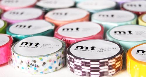MT washi tape giftbox Pop