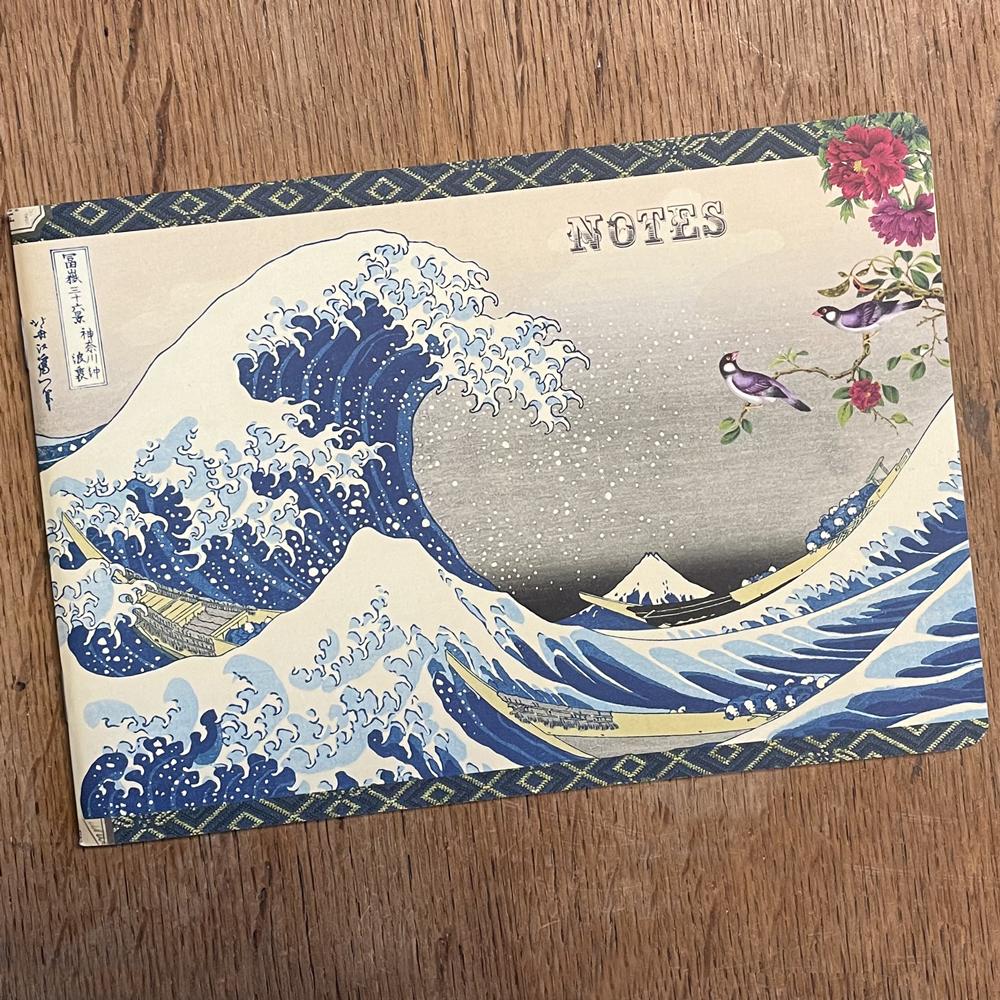Geïllustreerd notebook Estampes