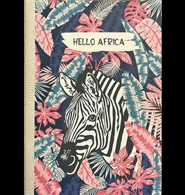 Gwenaëlle Trolez Créations Geïllustreerd schrift Hello Africa