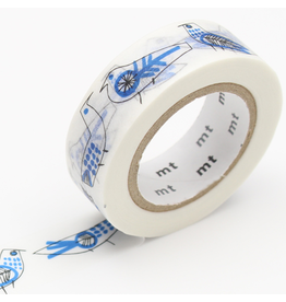 MT  MT washi tape ex  Retrobirds