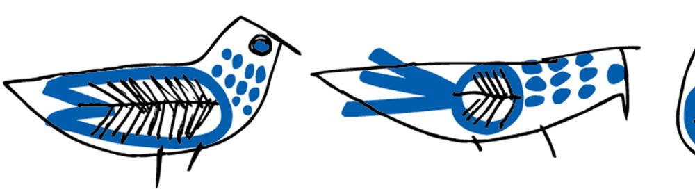MT washi tape ex  Retrobirds
