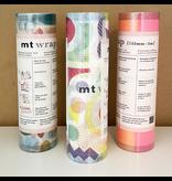 MT washi wrap Cloth texture fluorescence gradation