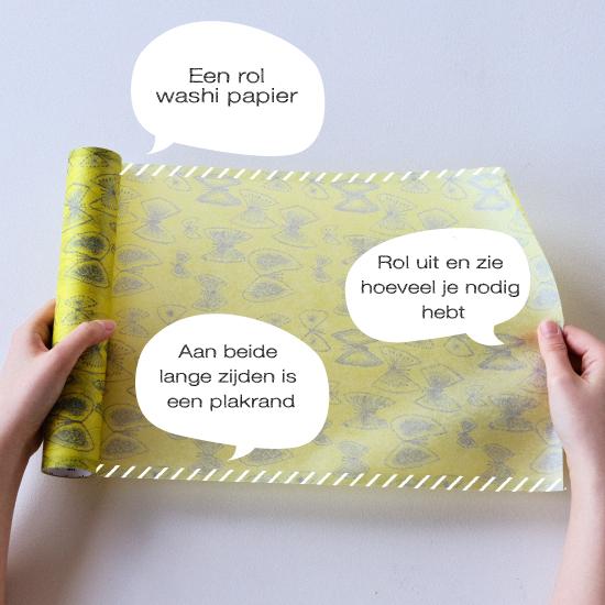 MT washi wrap Cloth texture oval materials