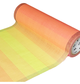 MT  MT washi wrap Cloth texture fluorescence gradation