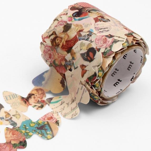 MT washi tape Fab die-cut Paper butterfly