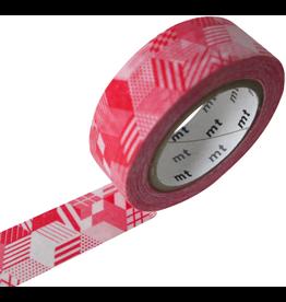 MT  MT washi tape box red
