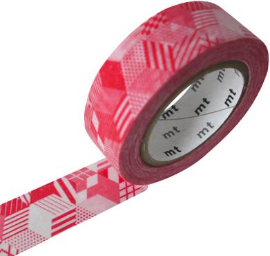 MT washi tape box red