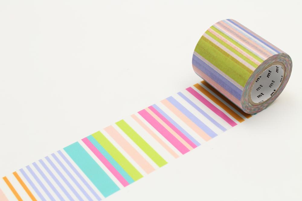 MT washi tape casa Multi border pastel 50 mm