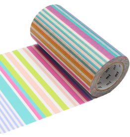 MT  MT washi tape casa Multi border pastel 100 mm
