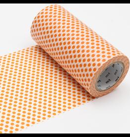 MT  MT washi tape casa Dot mandarin 100 mm