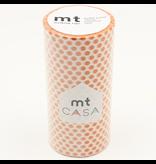MT washi tape casa Dot mandarin 100 mm