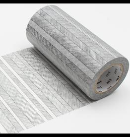 MT  MT washi tape casa Script border monochrome 100 mm