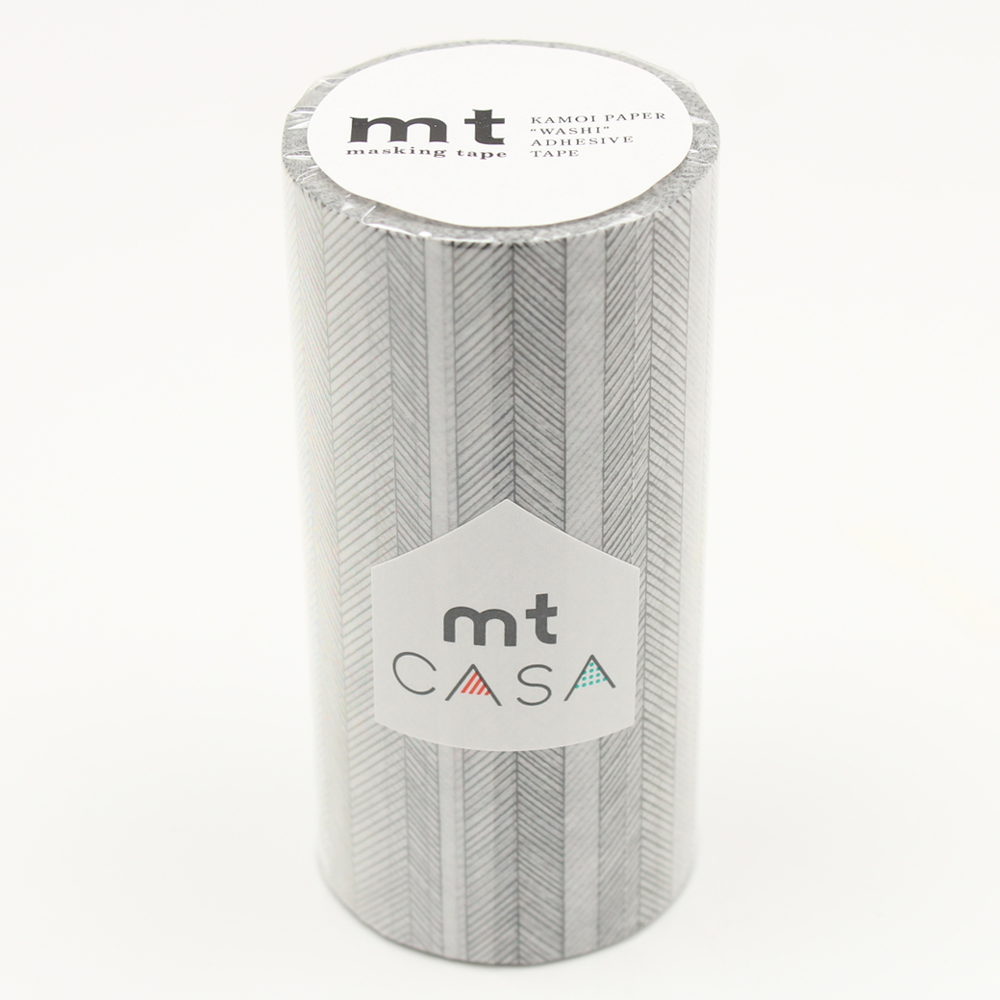 MT washi tape casa Script border monochrome 100 mm