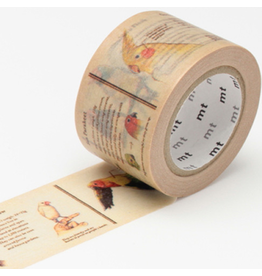 MT  MT washi tape ex encyclopedia bird