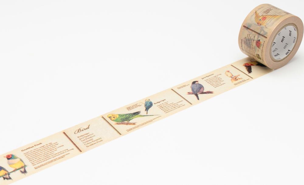 MT washi tape ex encyclopedia bird