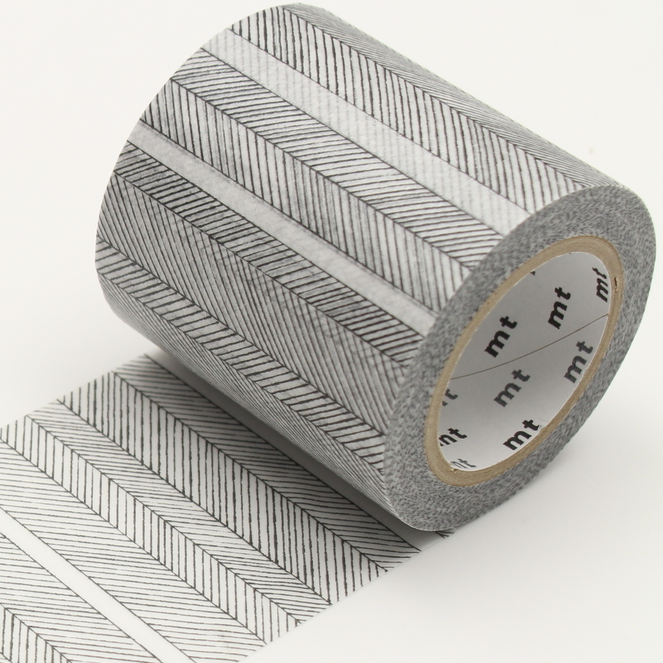 MT washi tape casa Script border monochrome 50 mm