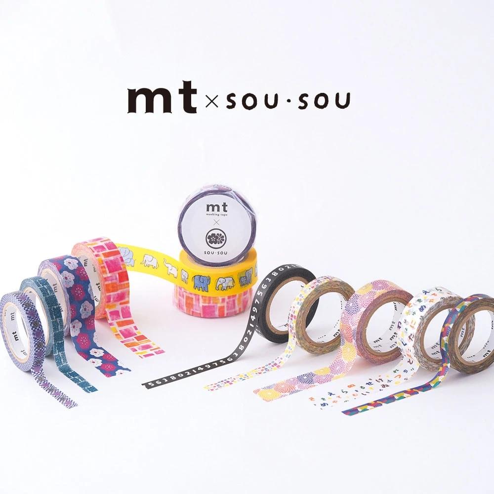 MT washi tape ex SOU.SOU Hanaichimatsu