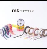 MT washi tape ex SOU.SOU Kitanokuni
