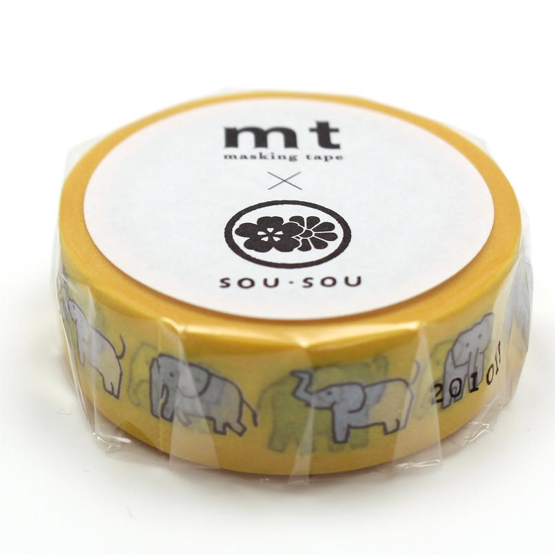 MT washi tape ex SOU.SOU Zou