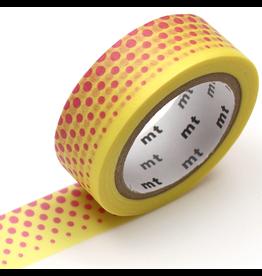 MT  MT washi tape deco Pop dot yellow