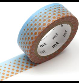 MT  MT washi tape deco Pop dot blue