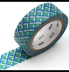 MT  MT washi tape deco Mesh green
