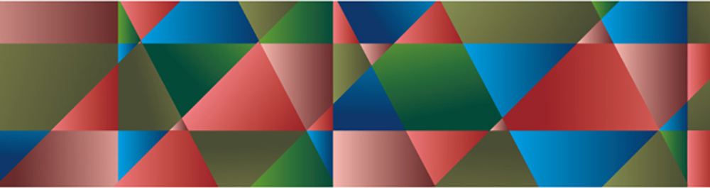 MT washi tape deco Polygon gradation deep