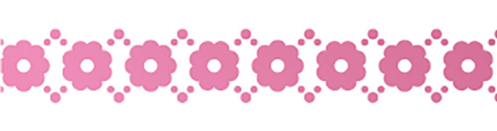 MT washi tape fab metallic Floral line