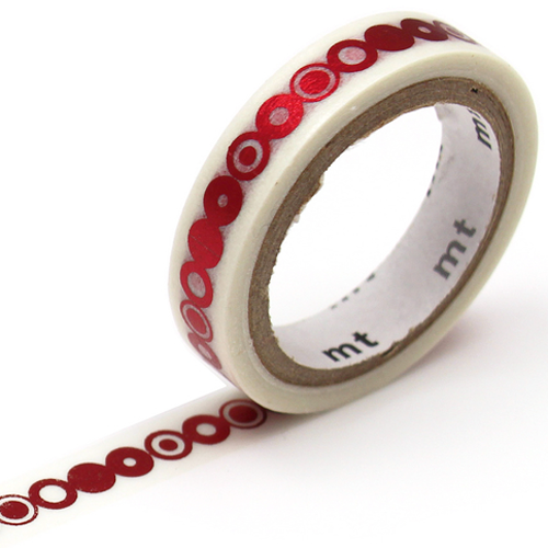 MT washi tape fab metallic Ring