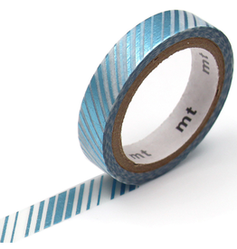 MT  MT washi tape fab metallic Cascade stripe