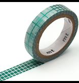 MT washi tape fab metallic Grid