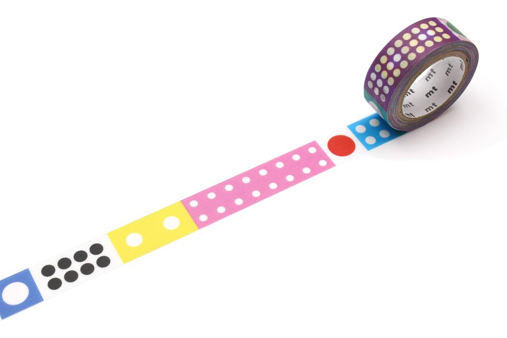 MT washi tape Kapitza Polka dot ice