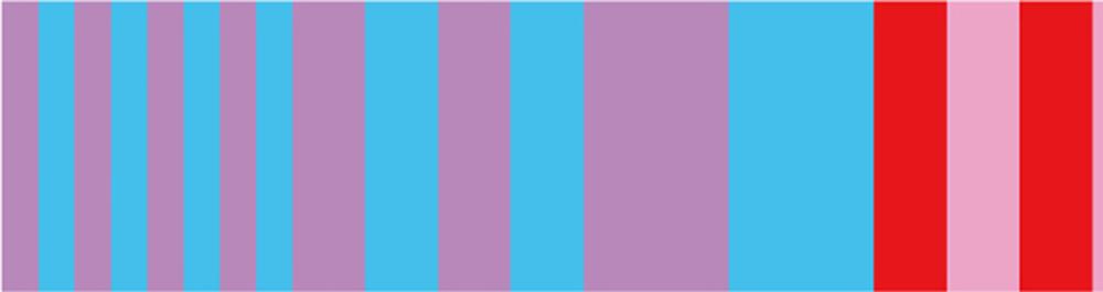 MT washi tape Kapitza Candy stripe