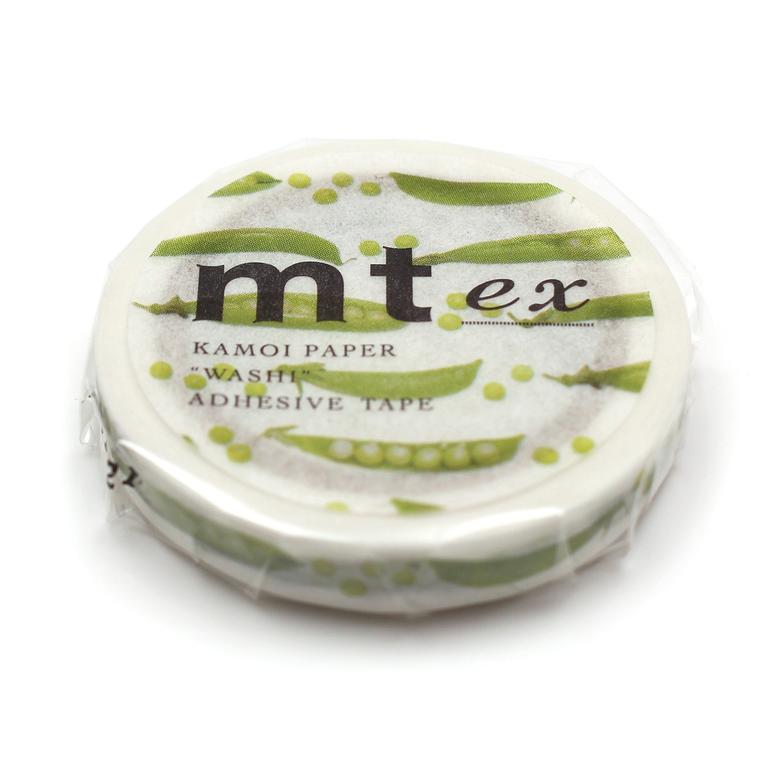 MT washi tape slim Snap pea