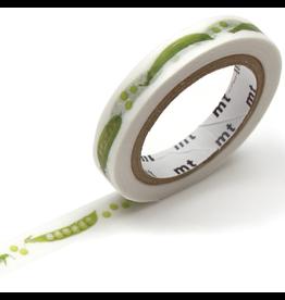 MT  MT washi tape slim Snap pea