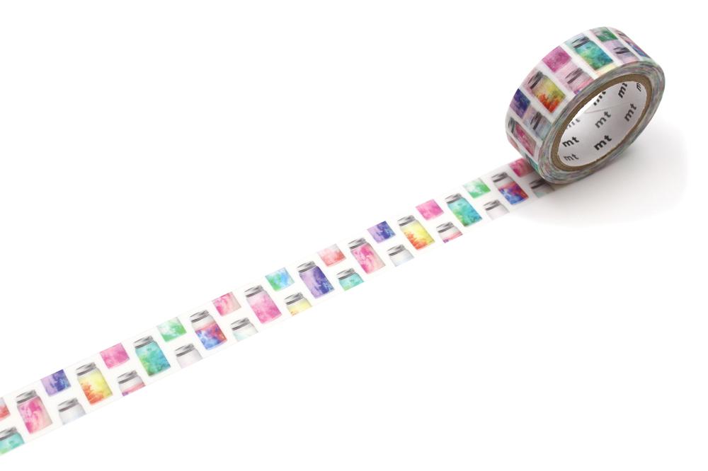 MT washi tape ex Colorful jar
